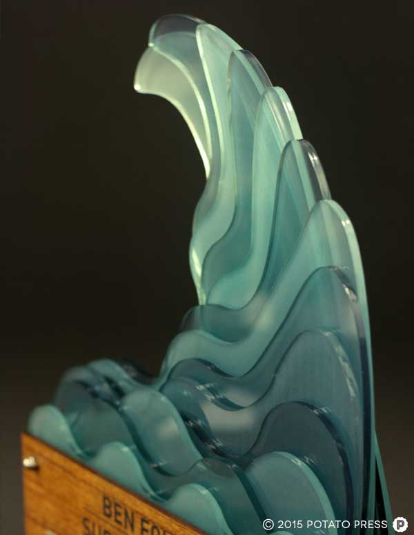 CBC-FREMANTLE-3-custom-trophy-layered-acrylic-wood-surf-wave-custom-bespoke