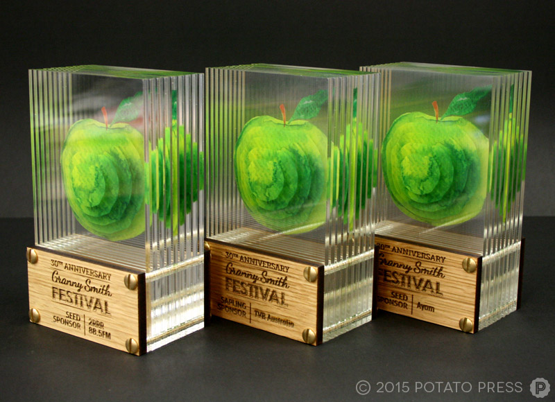 Grannysmith-apples-3s-trophy-acrylic-glass-3d-custom-bespoke-laser-etch-australia-international
