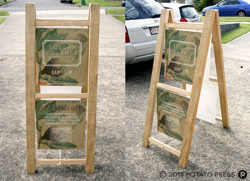 Custom-timber-aframe-signage-rustic-australia